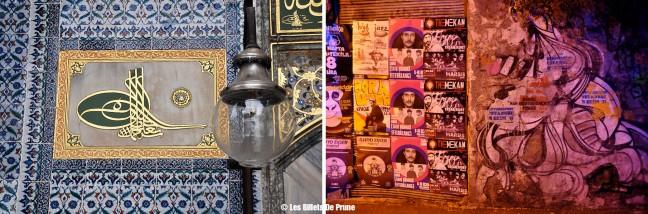 """""""Arabesques"""" Palais de Topkapi - Quartier de Taksim"""